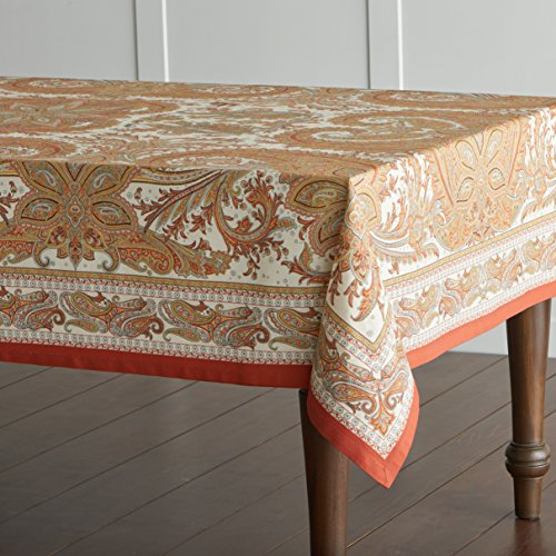 Maison d' Hermine Kashmir Paisley  Perfect for Thanksgiving and Christmas