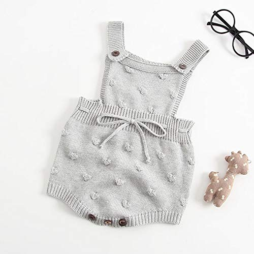 Amazon.com: Jshuang Baby Knitted Strap Romper Bubble Ball Triangle ...