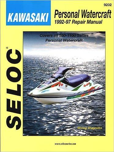 Kawasaki Personal Watercraft, 1992-97 Seloc Publications ... on