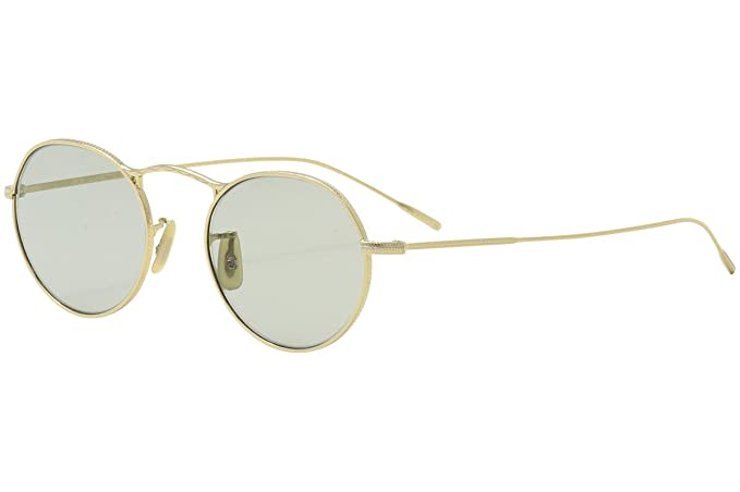 3313acc1d9 Oliver Peoples M-4 30TH OV 1220S GOLD PLATED GREEN WASH unisex Sunglasses