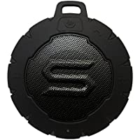 SOUL STORM - Outdoor Waterproof Wireless Speaker with Bluetooth. Powerful, Portable and Floatable. Storm Black