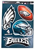 WinCraft Official National Football League Fan Shop Licensed NFL Shop Multi-use Decals