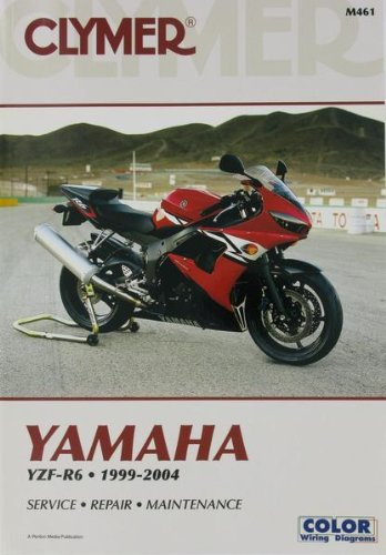 Clymer Repair Manual for Yamaha YZF-R6 R-6 99-04