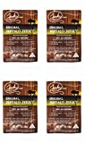 Classic Exotic Jerky Sampler Pack - TESTER 4 PACK - 4 Types of Wild Game Jerky (Venison Jerky, Buffalo Jerky, Wild Boar Jerky and Elk Jerky) - No Added Preservatives and No Added MSG - 4 total oz.