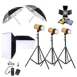 Neewer 174 Photography Photo Studio Lighting Kit 900w 3