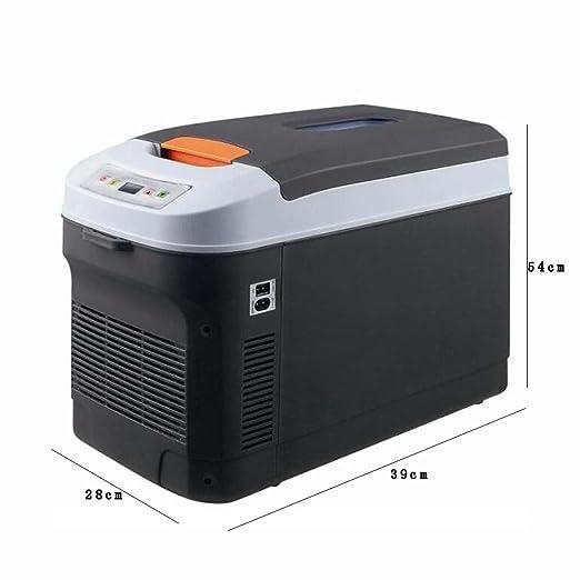 Refrigerador Coche 22L Mini Nevera Coche 12V/220V Inicio Refrigeración/Calefacción Mini Dual Refrigeración/Calefacción Control De Pantalla Digital ...