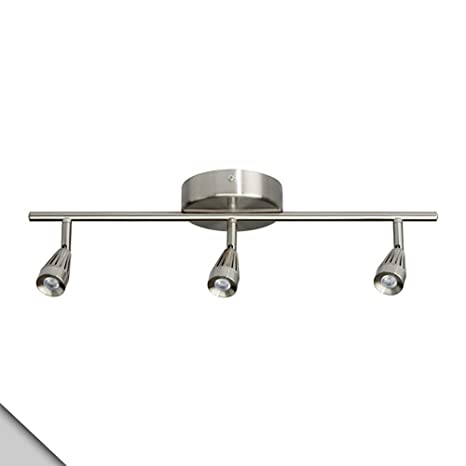 Ikea rymden led ceiling track 3 spots nickel plated amazon ikea rymden led ceiling track 3 spots nickel plated aloadofball Images