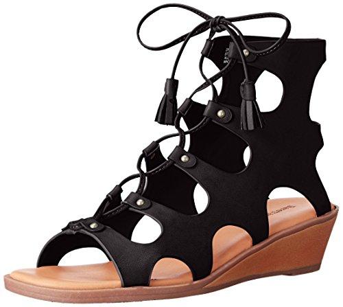 Femmes Nous Coin Baretraps Baretraps Sandale Noir Sandale De De Coin Nous Sandre xCCzqT8w