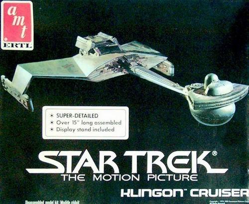 Star Trek The Motion Picture Klingon Cruiser Model Kit by AMT (Ertl Model)