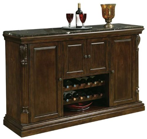 Howard Miller 693-006 Niagara Bar Console by - Distressed Cherry Finished Top