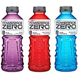 Powerade Sports Drink (ZERO Variety Pack, Pack of 24)