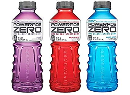 Amazon Com Powerade Sports Drink Zero Variety Pack Pack Of 24 Grocery Gourmet Food