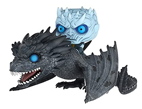 Funko Pop Rides: Game of Thrones-Night King on Dragon Collectible Figure - Collectibles
