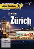 Mega Airport Zurich 2.0 - Add-on for Microsoft Flight Simulator X [PC STEAM] - (FSX) or PREPAR3D