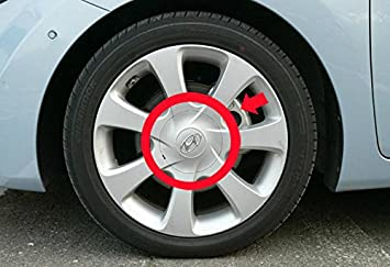 "OEM Genuine 17/"" Wheel Center Hub Cap Cover 4Pcs For HYUNDAI 2011-2013 Elantra MD"