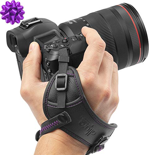 Camera Hand Strap - Rapid Fire Secure Grip Padded Wrist Strap Stabilizer by Altura Photo for DSLR and Mirrorless Cameras