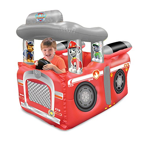 Paw Patrol Fire Truck Playland with 50 Ball