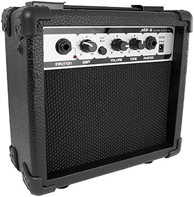 Tiger egt19-bk amplificador para guitarra eléctrica – negro ...