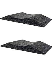 Haskyy 2 x bandenschoen, bandenbeschermer, bandenwieg van rubbergranulaat, 200 mm breed tot 185 banden