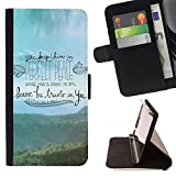 SKCASE Center / Flip Wallet PU Leather Case Cover for LG G3 / Religion Christian Quote Bible Christ