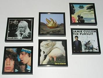 6er Set CD Cover Rahmen   Bilderrahmen Für CD Cover, Schwarz