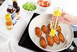 Bottle Brush Baster for BBQ,use it with Oil,Wine & Sauce for Pastries,Meat,Fish and Vegetables