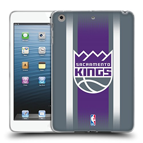 Official NBA Halftone Gradient Sacramento Kings Soft Gel Case for Apple iPad mini 1 / 2 / 3