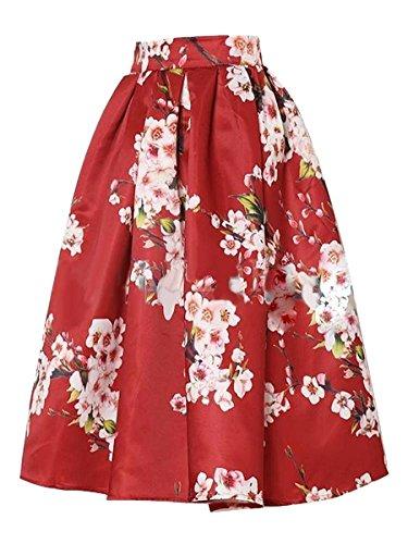 Skirt BL Womens Elegant Floral