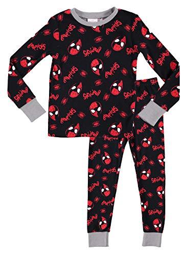 (Spider-Man Character Boys Sleepwear   Cotton Kids 2-Piece Pajamas - 3)