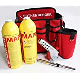 Rothenberger Super Fire 3 hotbag MAPP-B Sac chalumeau à gaz