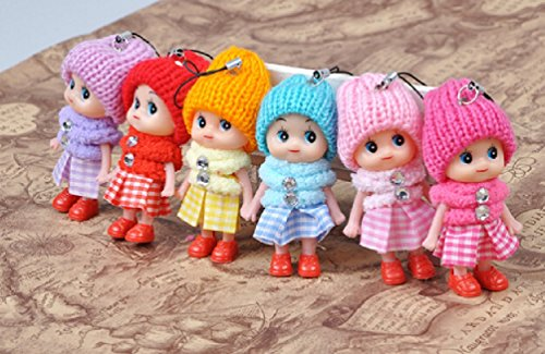 Wholesale 100pcs/lot Kids Toys Soft Interactive Baby Dolls Toy Mini Doll For girls and - Wholesale Chopper Mini