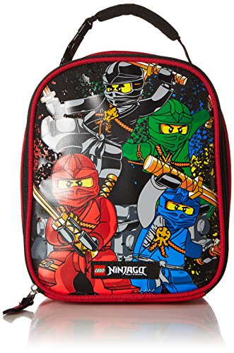 LEGO Kids Ninjago Team Lunch Backpack, Red, One Size