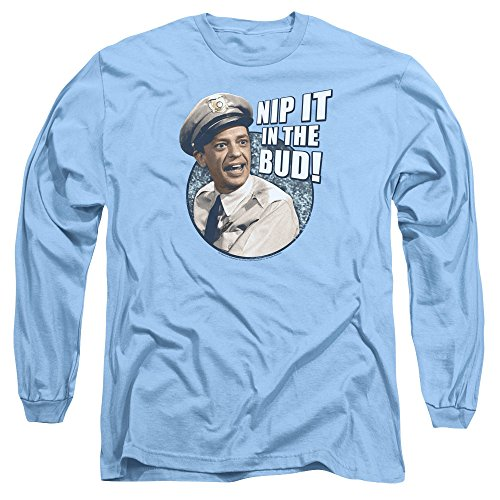 Andy Griffith Icon Nip It Adult Long Sleeve T-Shirt Tee