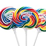 3 Inch Rainbow Whirly Pops 60 Lollipops
