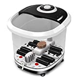 WE&ZHE Automatic electric heating massage foot machine home thermostat foot bath pots wash feet device