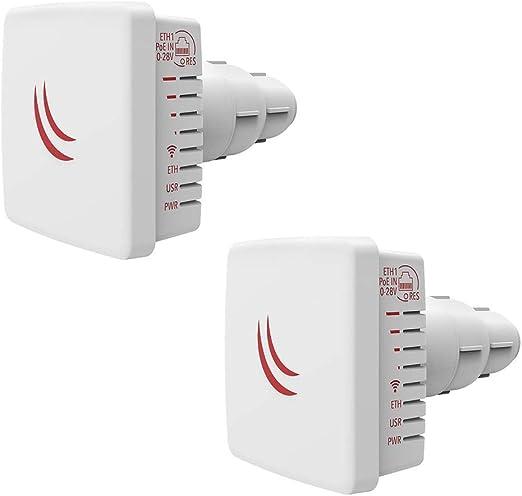 MikroTik LDF 5 - Fuente de alimentación para Antena de Antena parabólica (2 Unidades, 5 GHz)
