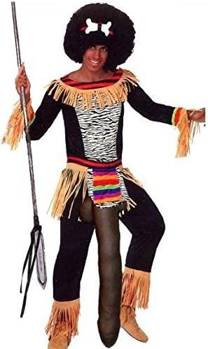 Disfraz Despedidas de Soltero de Zulu Mandinga: Amazon.es ...