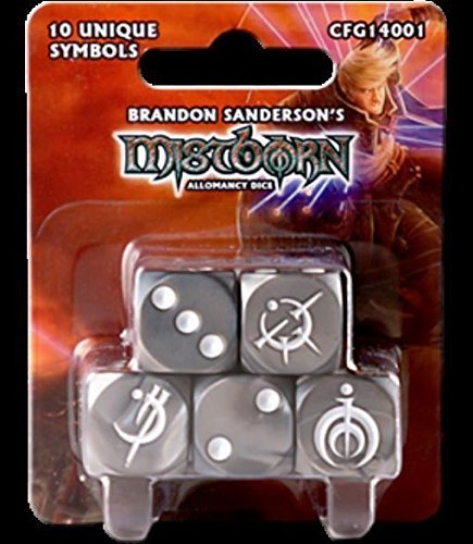 Mistborn: Allomancy Dice by Crafty Games