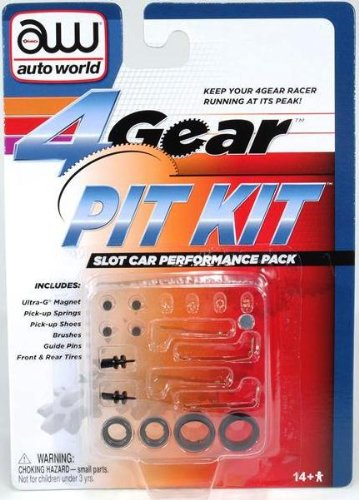 NYA 4-Gear Slot Car Pit Kit