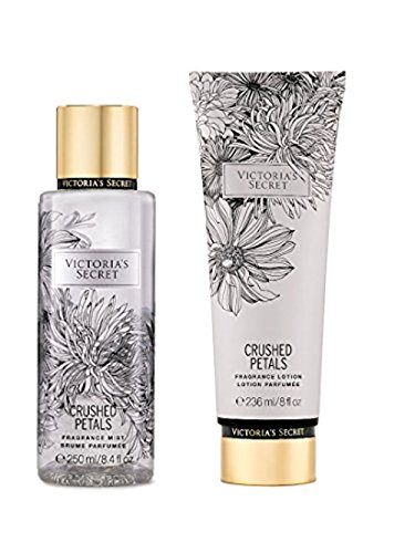 Victoria's Secret Fragrance Body Lotion & Body Mist Set (Crushed Petals)