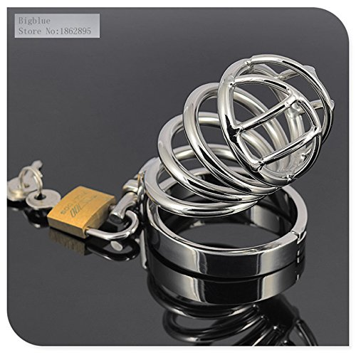 Marcaus Paint Co 2016 304 Stainless Chastity Device Cock CageMetal CB Chastity Cage Male Sex Product Sexy Shop Produtos Estimulantes A080 by Marcaus Paint Co