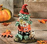 Halloween Male Zombie Gnome Figurine Garden Statue For Sale