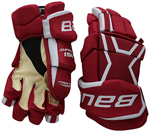 Bauer Senior Supreme 150 Gloves, Black