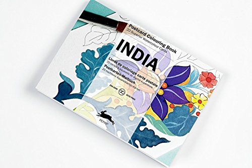 Artists' Colouring Post Card India