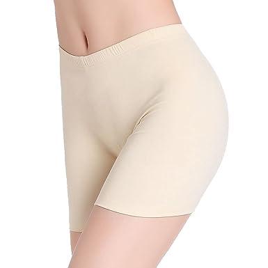a9f793078ea44 Femme Respirant Culotte de Sécurité Élasticité Courts Legging Short sous  Jupe
