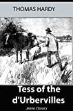 Image of Tess of the d'Urbervilles (Illustrated) + Free Audiobook - Jeana Classics