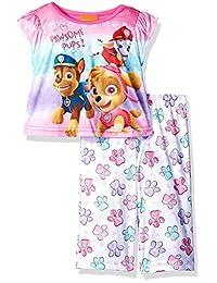 "Paw Patrol Little Girls' Toddler ""Pawsome Pups!"" 2-Piece Pajamas"