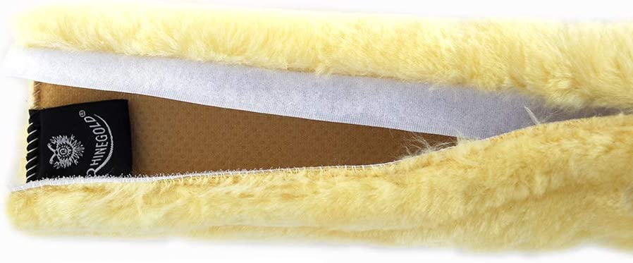 Rhinegold Luxe Noseband Cover