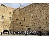 Photographic Print of Men s Section, Western (Wailing) Wall, Temple Mount, Old City, Jerusalem