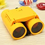 KeyZone Bright Colors Magnification Binocular Telescope with Neck Strap For Outdoor Necessary Yellow